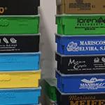 Cajas de plástico de varios colores personalizadas